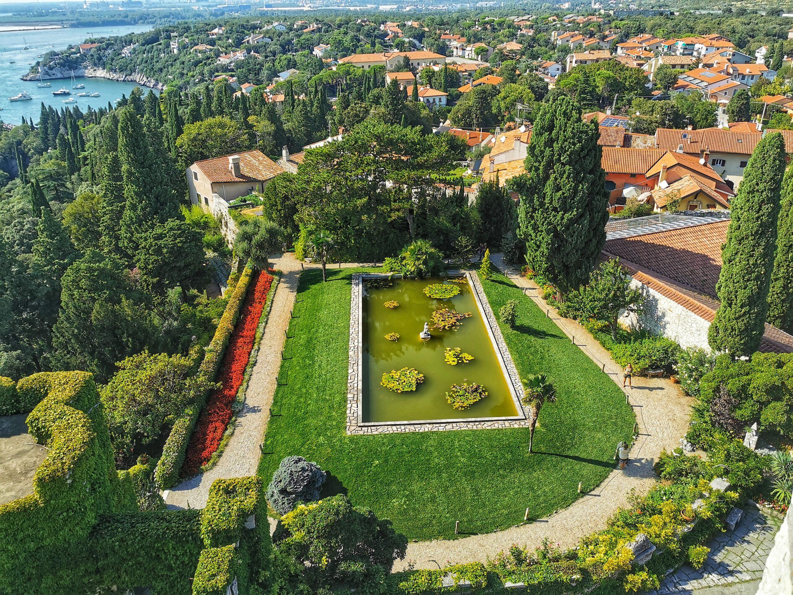 parchi castello duino