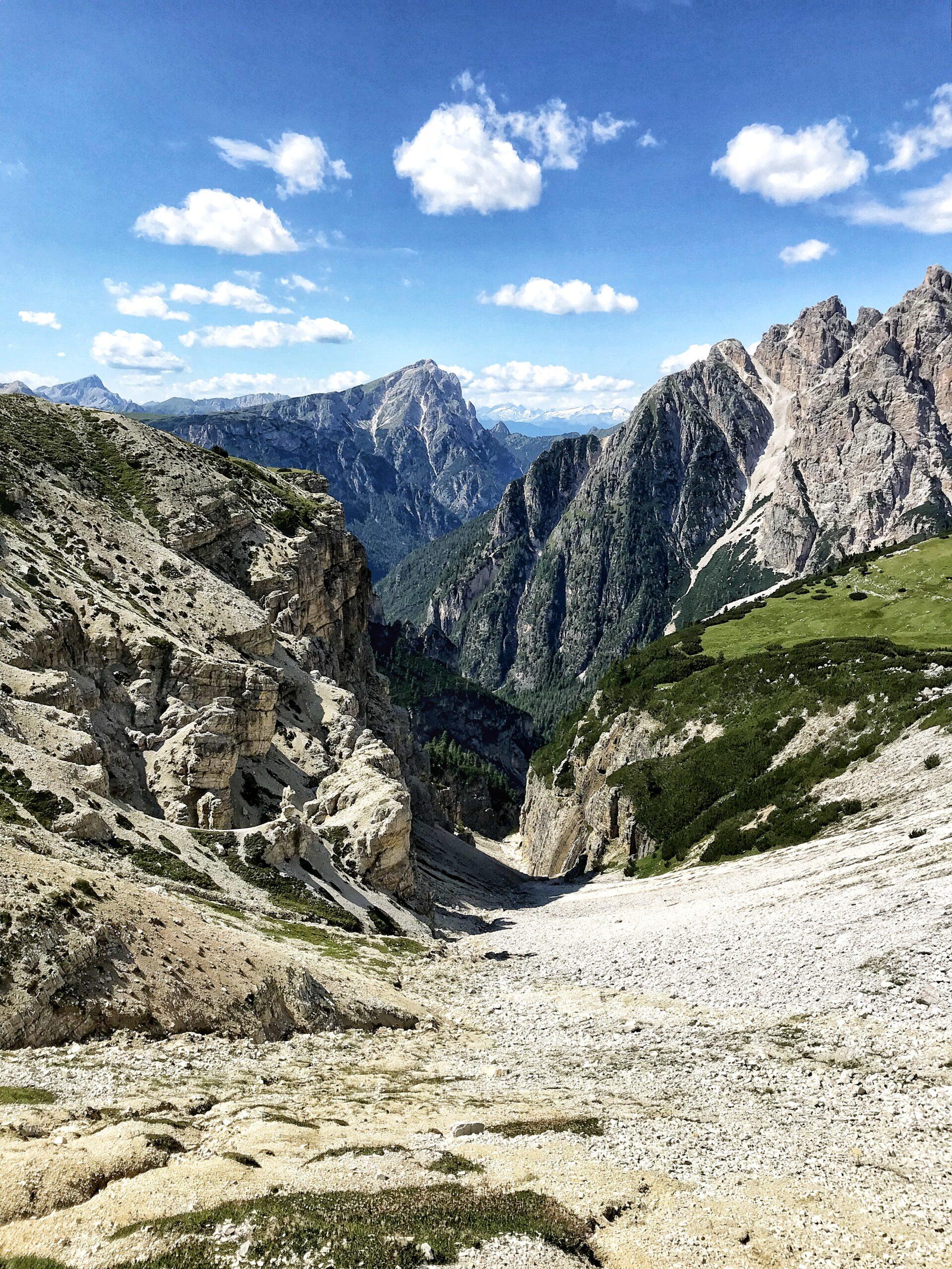 trekking tre cime
