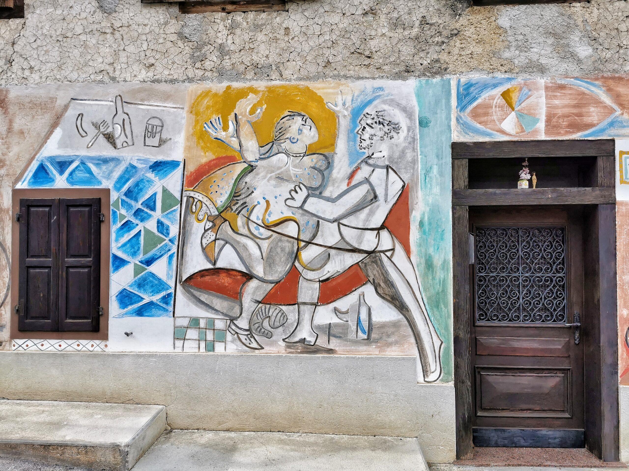 street art cibiana