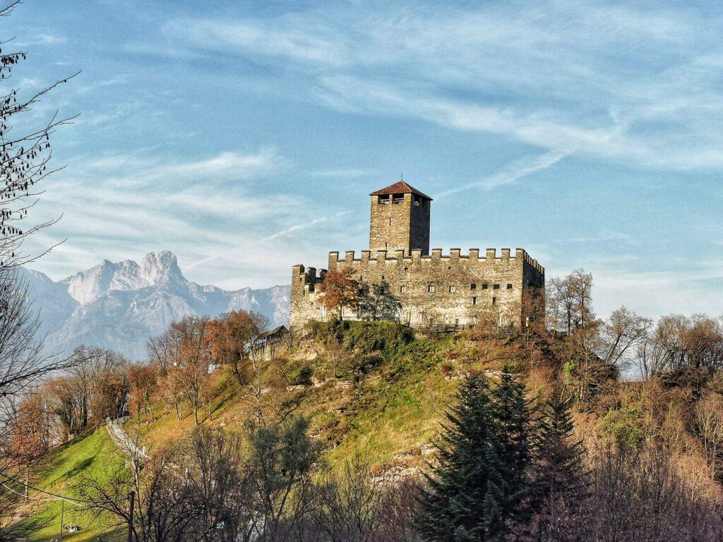 Mel castello Zumelle