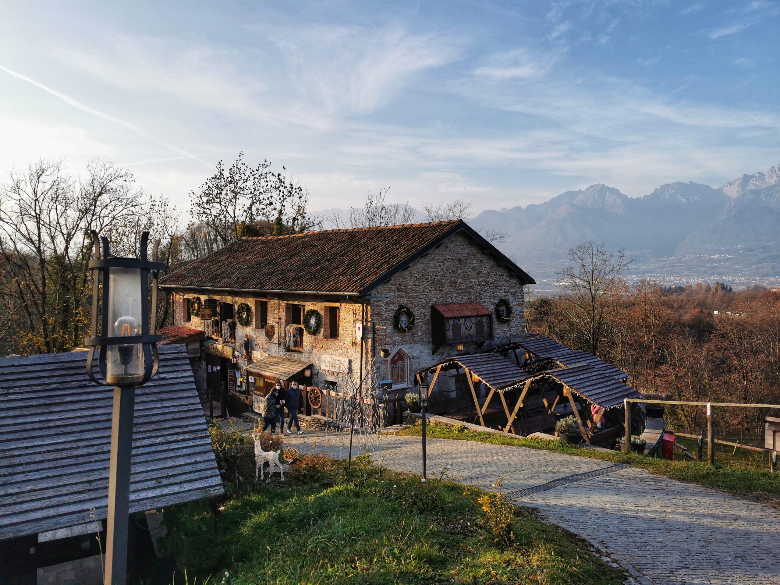 ristorante castello zumelle