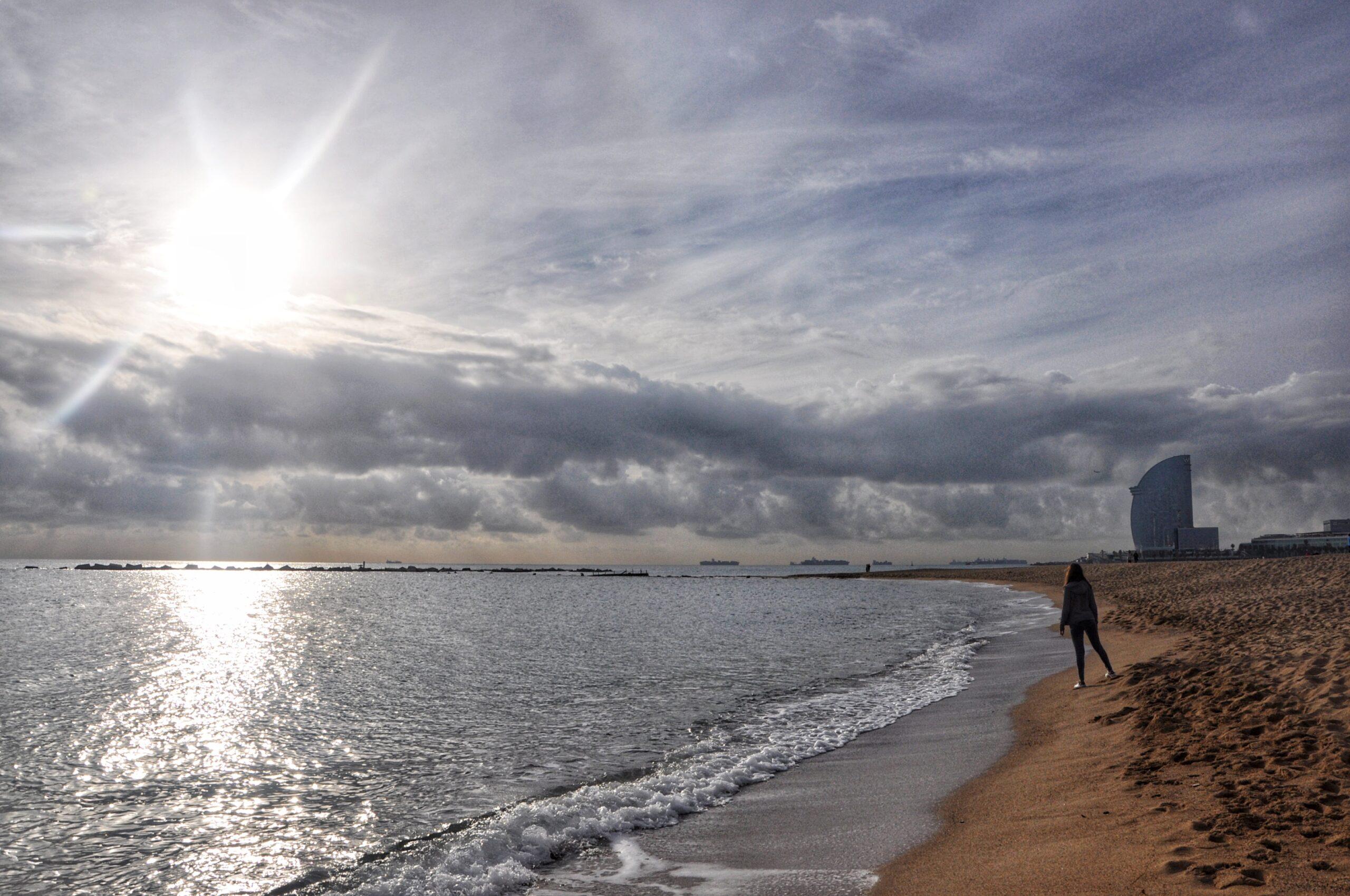 barcellona spiaggia di barceloneta