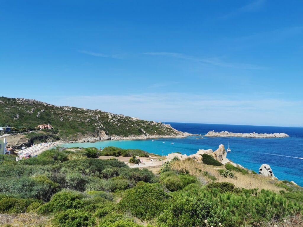 Spiaggia Sardegna mare blu