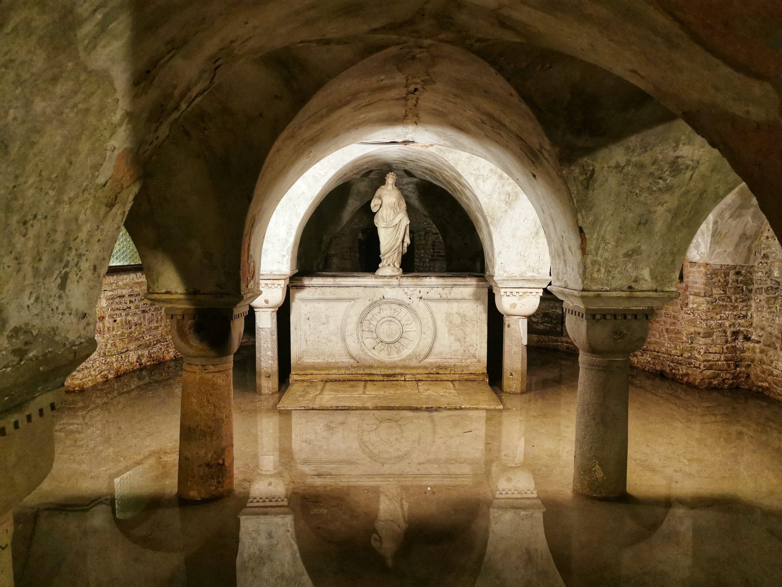 Venezia segreta: 5 luoghi insoliti cripta allagata