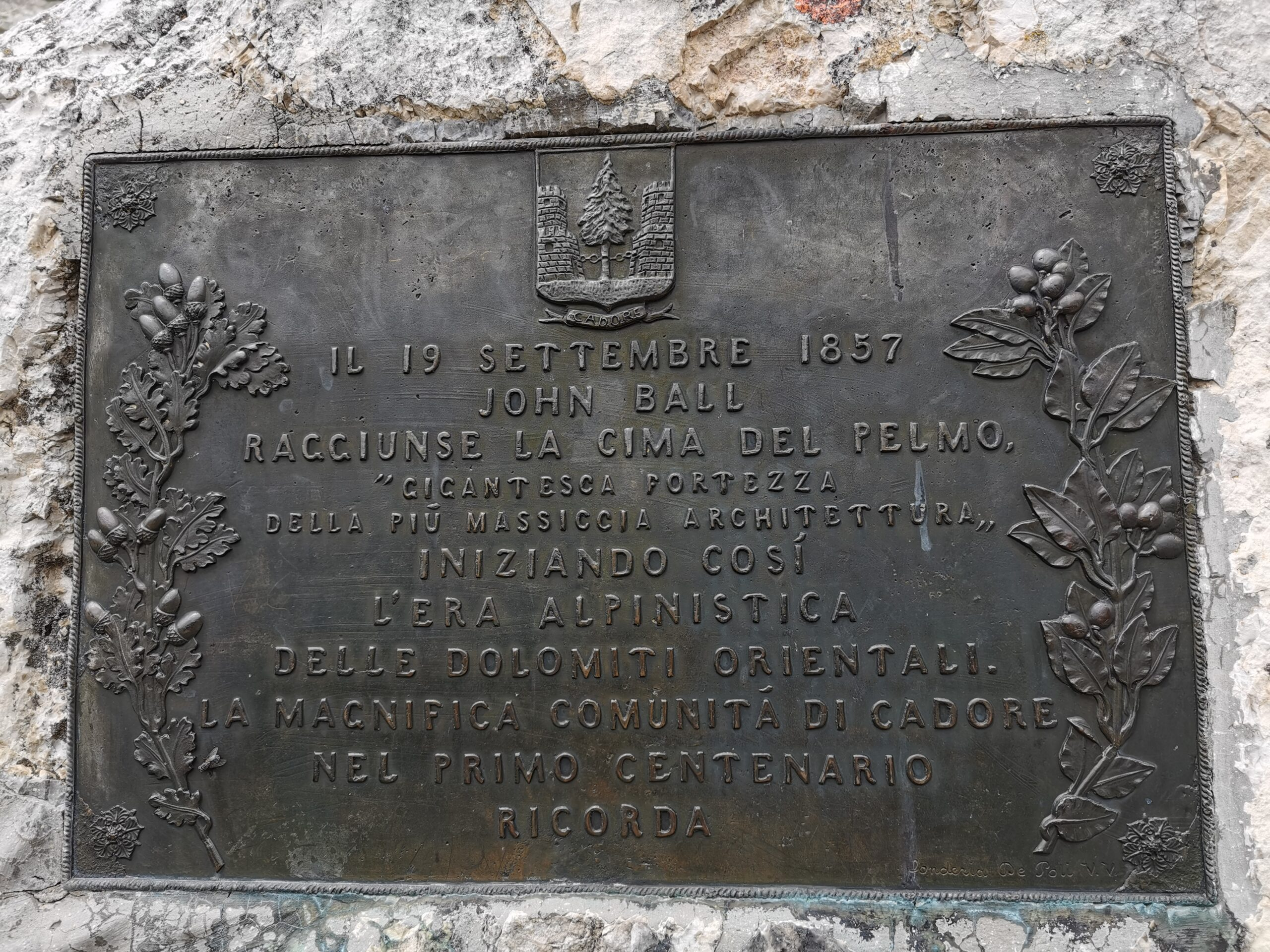 targa rifugio venezia