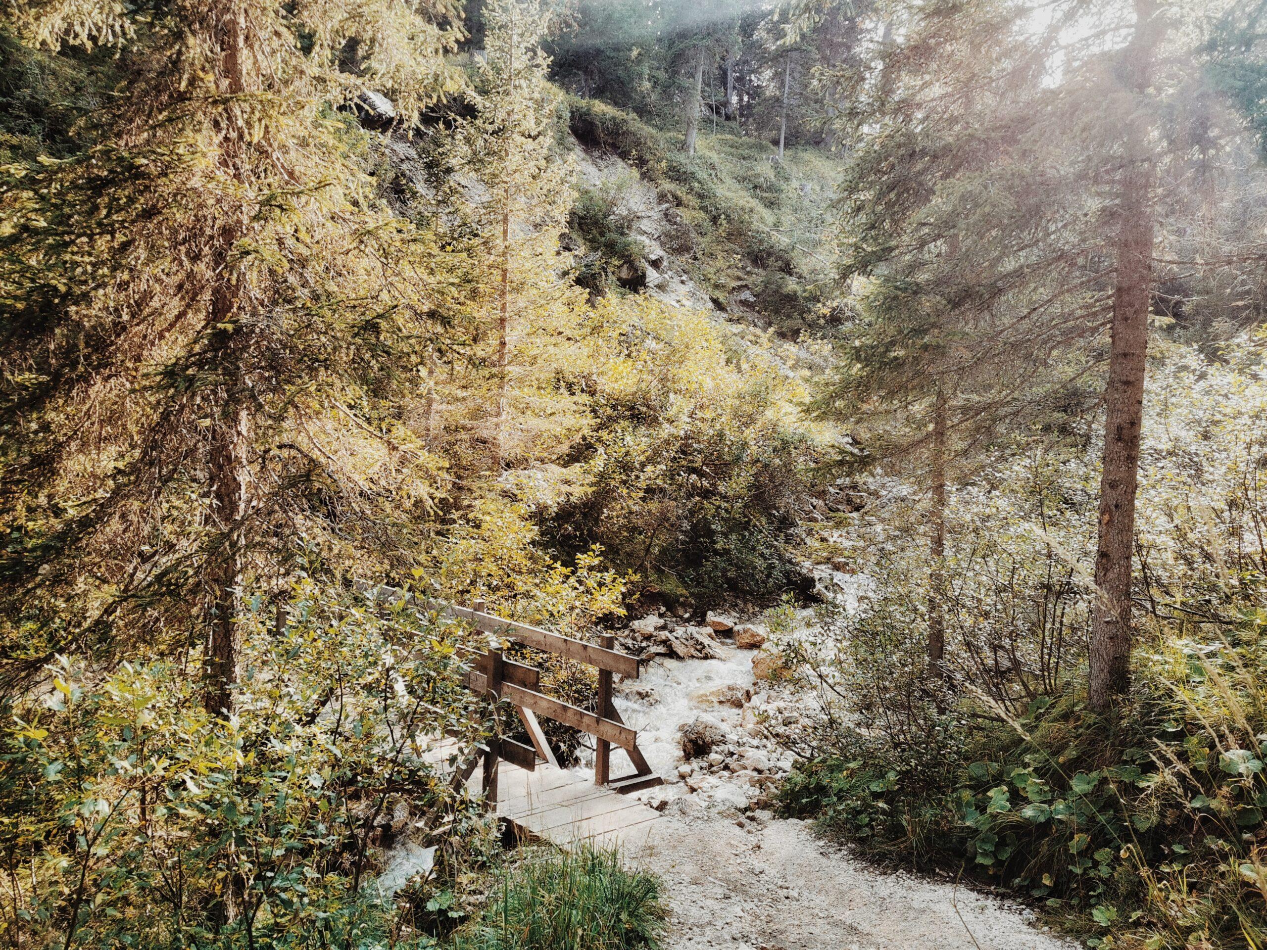 sentiero Croda da Lago