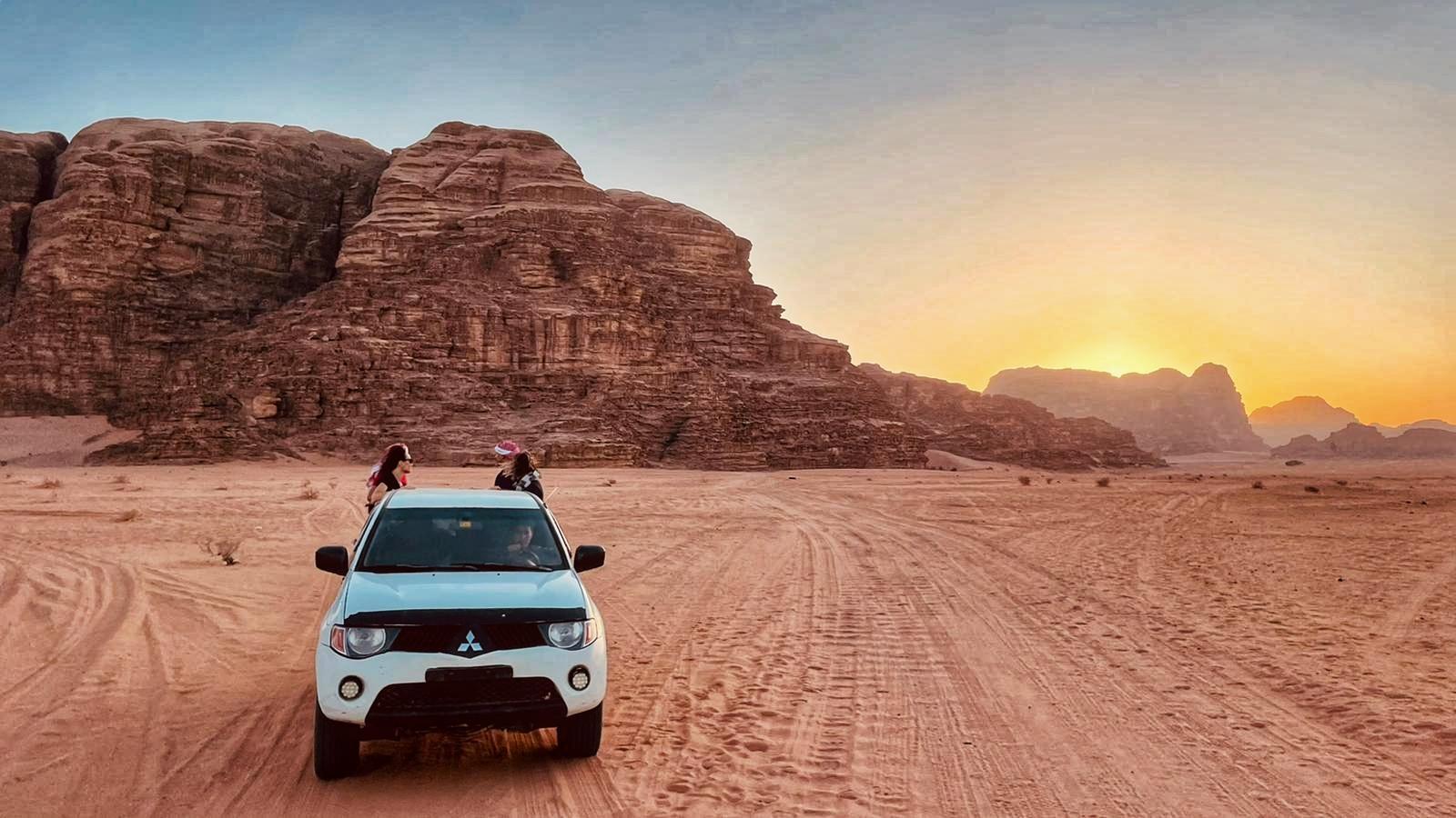 jeep deserto Wadi Rum
