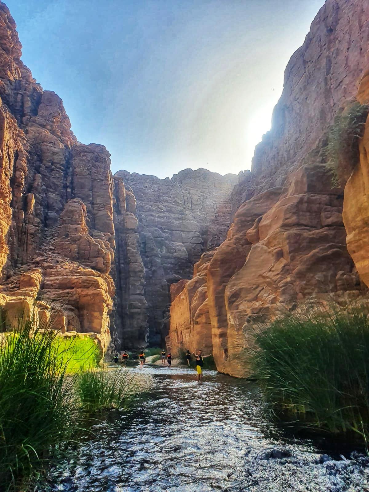 torrente Wadi Mujib