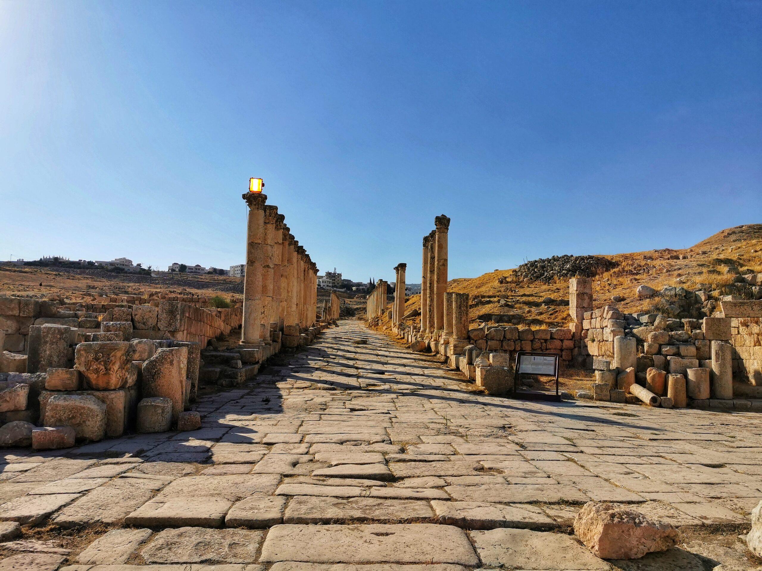 Jerash sito archeologico